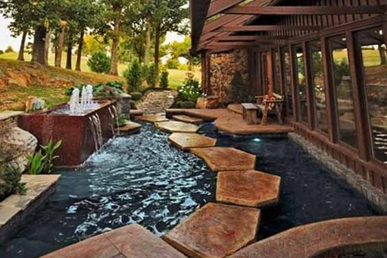 Architectural Pond