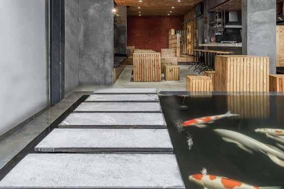 Indoor Koi Pond