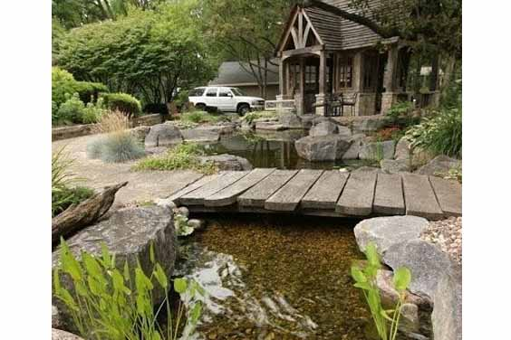 Rustic Pond Set
